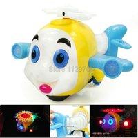 электронные мультфильм рыбы с свет и музыка, пластиковые игрушки для детей