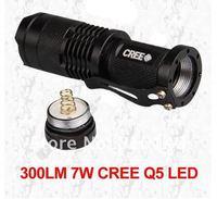 масштабируемые из светодиодов фонарик с кри кри Q5 из светодиодов лампы, портативный с для помощью безопасности, 1 шт. бесплатная доставка