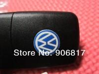 10 пк / Лот 3 кнопки дистанционного ключ раковина для Фольксваген + нкр