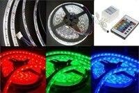 5050 смд светодиодная лента свет RGB ip68 Сид Poor 60led / м SMD + 24 ключи контроллер бесплатная доставка