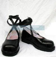 kanaria косплей хэллоуин черные туфли от Розен мейден