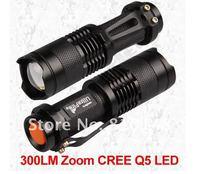 20 частей / серия кри Q5 из светодиодов масштабируемые факел фонарик 7 Вт свет 700lm лёгкие
