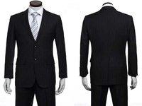 мужчины в костюмы, платье костюм, верхний количество костюм, ткань в полоску черный