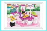 рождественский подарок просвещения b0155 образования автомобиль sluban строительный блок устанавливает DIY для игрушка, детские игрушки бесплатная доставка