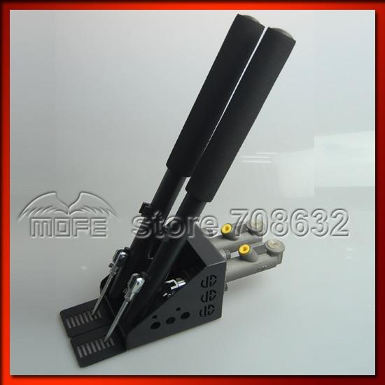 0.75 inch Dual Twin Double Master Cylinders Handles Lockable Vertical Drift Rally Handbrake Hand Brake Hydraulic E-brake DSC_0838