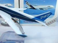 бесплатная доставка, сопровождать модель самолета, бразилиа самолет b747-400 модель самолета, 16 см, модели самолета металла