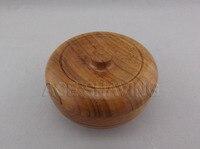 резиновые древесной стружки чаша с крышкой