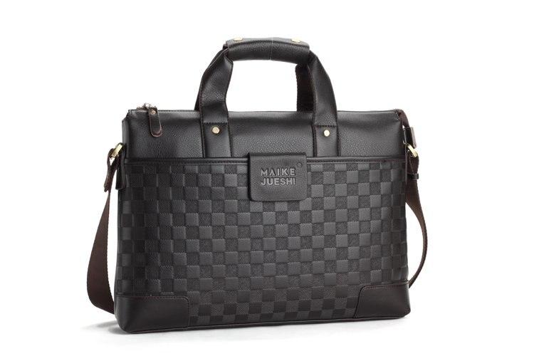 Korean Version Of Business Brands Briefcase Leanter Bag For Men