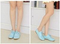 размер 35 - 40 женская обувь из естественной кожи, квартиры женская обувь 4 цветов бесплатная доставка