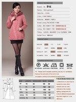 новинка женские кофты с длинными ник пальто Рекс-кролика волосы лайнер капюшоном верхней одежды ватные куртка DHL / вывесьте EMS бесплатная доставка