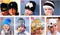 30 шт laden мальчики-девочки laden форме цветок шляпы дети шапки малыша новорожденных волос аксессуары
