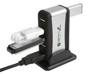 Интерфейс USB 7-портовый концентратор + адаптер переменного тока - скорость