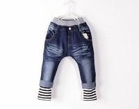 в розницу! весна новинка мальчиков девушки джинсы дети брюки хип-хоп джинсы для детей джинсы pt034