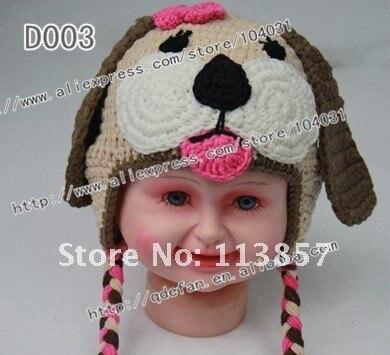 Venta caliente! 100% algodón infantil del ganchillo del sombrero del ...