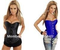 бесплатная доставка большой размер сексуальное черное кружево подстриженные до корсет топ сексуальное белье бюстье для женщин дешевые сексуальное нижнее белье