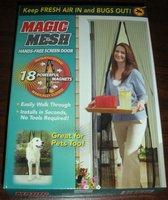 новый волшебные руки сетки - бесплатно двери магнитный анти-москитной ошибка отлично подходит для домашних животных 1 шт./лот бесплатная доставка