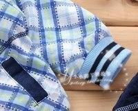осень новое постулат, бесплатная доставка, мода детский костюм мальчик и прекрасный верхняя одежда и пальто детская одежда утолщение спортивный костюм