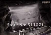 горячая распродажа портфель! бизнес сумка для ноутбука подарок новое моде мужчины из натуральной кожи сумка