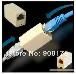 RJ11 Stecker 6P4C Extender Adapter Telefon Modularstecker Net Kabel ...