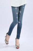 бесплатная доставка женщин сексуальное jeggings ну вечеринку леггинсы установлены длинные брюки стрейч женская горячей леггинсы новый с dwf051_40