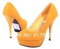 бесплатная доставка мода туфли для женщин на высоких каблуках женская сексуальное платье туфли выделения гламур