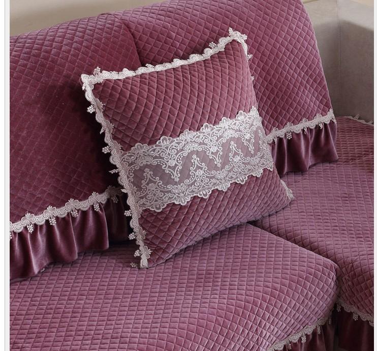 европа стиль роскошные анти-скольжения хлопчатобумажная ткань дивана подушку диван крышку полотенце для диванов дома современный декор текстиль охватывает чехол