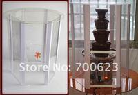 4 уровни 60 см из нержавеющей стали коммерческий шоколадный фонтан чайник бесплатная доставка