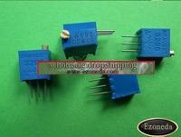 3296 с perm скоростью потенциометр, 12valuesx5pcs = 60 шт., Пермский резистор, потенциометр типа комплект