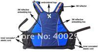 shakoo удобную посадку спасательный жилет, спасательный жилет, спасательный жилет пфо синий плавать 10 шт. / коробка