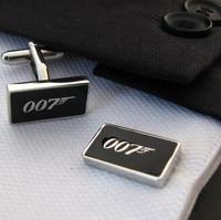 черный 007 запонки для мужчин рубашка много ювелирных свадьбы подарки и подарки оптом