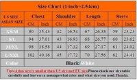 бесплатная и быстрая доставка новых людей футболку свободного покроя уменьшают подходящие стильный длинным рукавом топы футболку цвет : черный, белый p015
