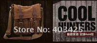 уилл смит мода брезентовый мешок отдыха, мужская сумка, сумка на плечо, коричневый или черный цвет, бесплатная доставка smb594