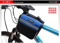 дипломированный перед inbike трубы чемоданчик седло сумка велосипед аксессуары езда на горном велосипеде оборудование