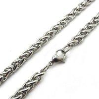 3 5 6 7 8 мм ширина мужские женщины серебро SW цепи нержавеющая сталь ссылки цепочки и ожерелья новый подарок