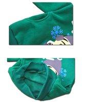 бесплатная доставка свободного покроя удобные детская одежда для девочек толщиной стиле весной, осень и зима опт и Роза