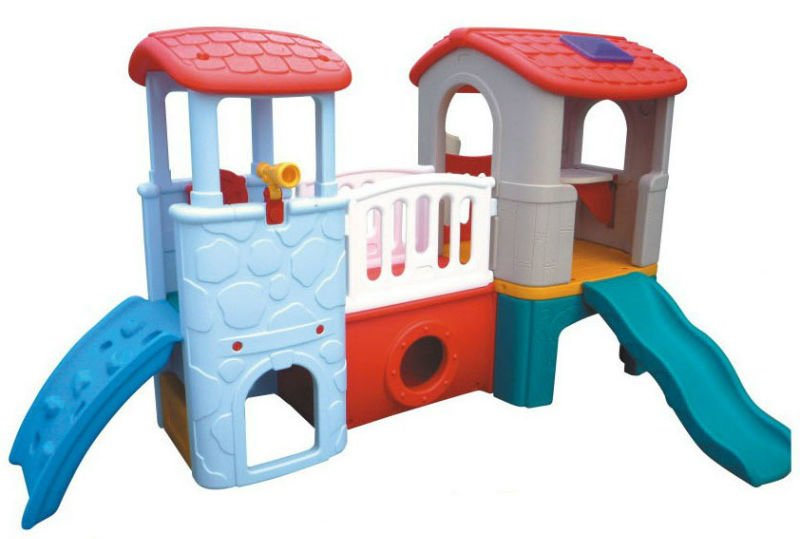 kids indoor plastic slide, slide house /-in Slides from Sports ...