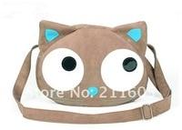 бесплатная доставка 2010 новый милый кот-глава стиль женская сумки девушки сумки на ремне посланники b56