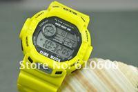 новый AC оптом 5atm цифровые на открытом воздухе водостотьким мужская спортивная часы г 6907 желтый