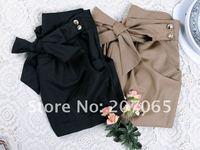бесплатная доставка высокое качество брюки женские, брюки свободного покроя, с бантом шаровары 2 цвет