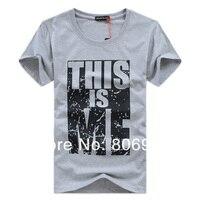 новый 100% contton мужчины футболки майка торфа мода с Корк рукавом футболка Prime номера бесплатная доставка распродажа