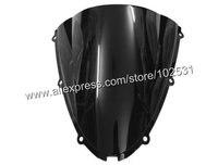 бесплатная доставка черный мотоцикл лобовое стекло лобовое стекло Kawasaki запросу zx6r 05 - 08 zx10r 06 - 07 y382