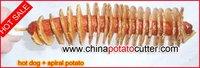 бесплатно мульти-лезвия растительные спираль тесак 110 в 220 в 528-3 твист картофеля спираль картофеля резки 52838707