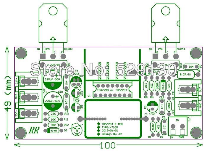 Transistor 2sc5200 Amplifier Circuit Datasheet Complete