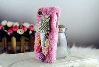 бразилиа мех угрюмый и красочные цветы крышки для галактики S3 чехол для iPhone 6 с большой 5С 4S а099