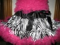 горячая распродажа, завод точек, glad ткань + мода зебра + хорошая упаковка, девушки мода pettiskirts детское, знаки платье