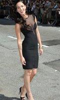 европейский модное платье черный женская бальное платье о-образным шеи повязки прозрачные марли гл сексуальное вечернее платье