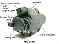 тактический М6 лазерная и фонарик кри из светодиодов для черного страйкбола