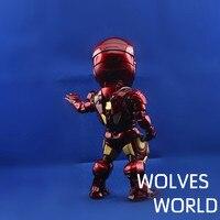 бесплатная доставка новый в версии основном продажи человек тони ПВХ фигура игрушка 18 см, глаза, рука, в форме сердца стоял Funk американский герой для подарок