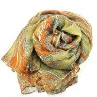 бесплатная доставка! высокая мода шарф женщины с осень дамы шарфы пашмины хиджаб печать, 184 см * 111 см