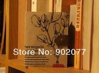 д32-229 бесплатная доставка / винтажный стиль старинные листьев дневник / тетрадь / блокноты / 4 / оптовая продажа